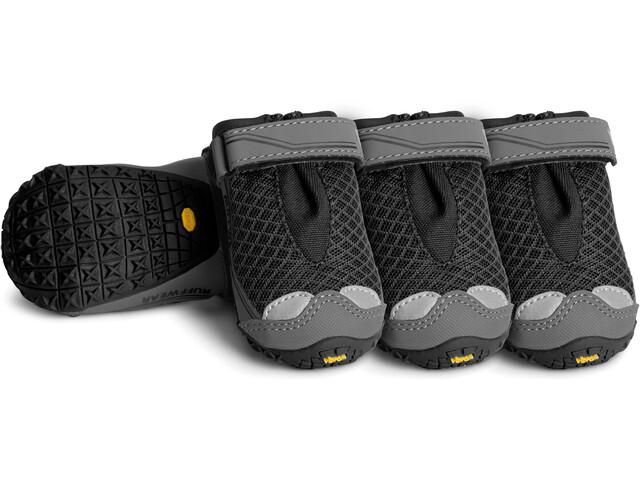 Ruffwear Grip Trex Psie buty 4 szt., obsidian black